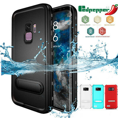 Fr Samsung Galaxy S9+ S8 Waterproof Shockproof Dirt Proof Heavy Armor Cover Case