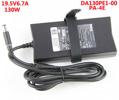 New Genuine Dell XPS 15 17 130w AC ADAPTER BATTERY CHARGER POWER CORD PA-4E PA4E
