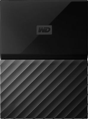 WD - My Passport 2TB External USB 3.0 Portable Hard Drive with Hardware Encry...