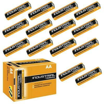 24 x Duracell AA Industrial Alkaline Batteries 1.5V LR6 MN1500 Procell 2024 exp.