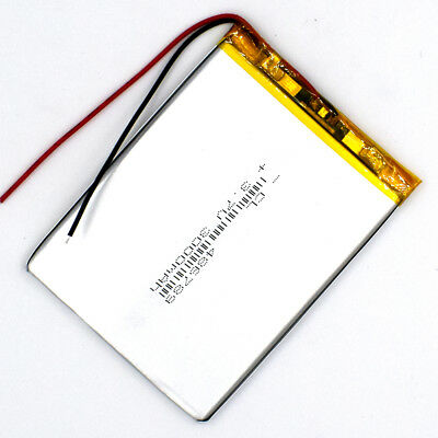 3.7 V 3000mAh 486789 Li-Polymer Rechargeable Battery Liion LiPo Cell for GPS MP3