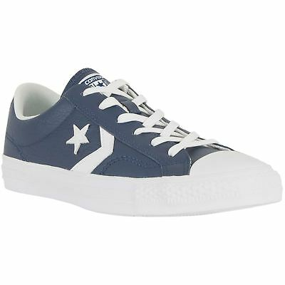 Converse Star Player Ox Midnight Navy Womens Canvas Low Top Trainers