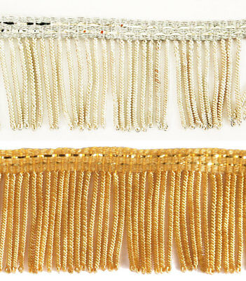 Bullion metallic vestment fringe - FRL