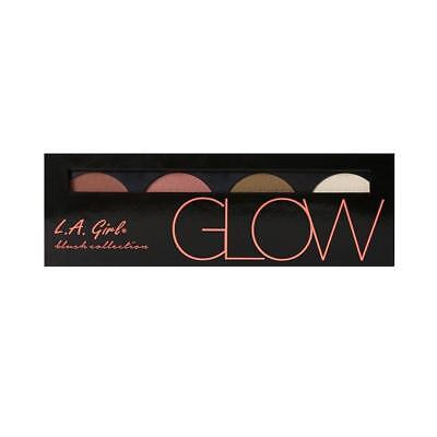 L.A. Girl Beauty Brick Blush Palette 22g for Her, 4 SHADES, NEW