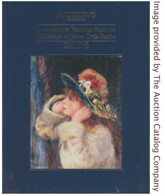 Sothebys NY 1989 Ortiz-Patino Collection Impressionist Art Hardcover Full Color