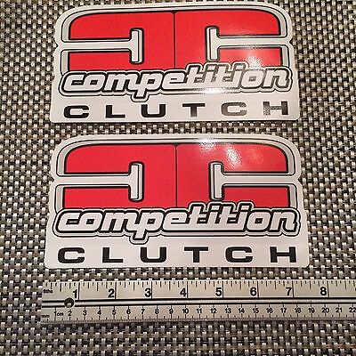 Competition Clutch Sticker -pair