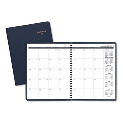At-A-Glance Monthly Planner, 9 x 11, Navy, 2019 - 2020 (AAG7026020)