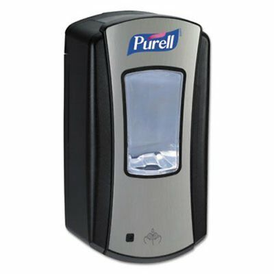 Purell LTX-12 Touch Free Hand Sanitizer Dispenser, Black/Chrome (GOJ 1928-04)