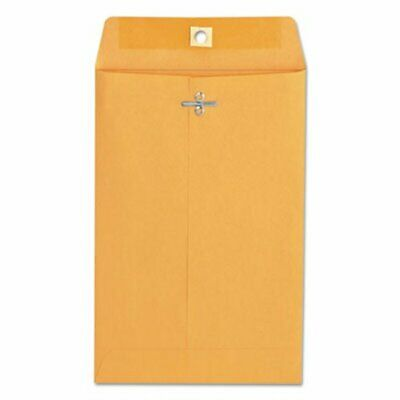 Universal Kraft Clasp Envelope, 6 x 9, Light Brown, 100 Envelopes (UNV35260)