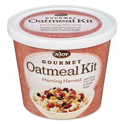 N'joy Gourmet Oatmeal Kit, Morning Harvest, 3.08 oz Bowl (NJO1036601)