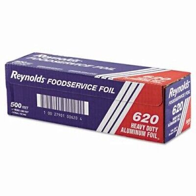 Heavy-Duty Aluminum Foil Rolls, 12in x 500 ft. (REY 620)