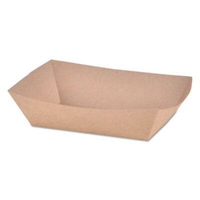 Sct Paper Food Baskets, Brown/White Check, 2 lb Capacity, 1000/Carton (SCH0517)
