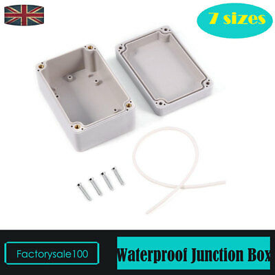 White ABS Junction Box +Cable Wire Connector Underwater Water/Fire Retardant UK