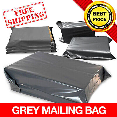 Grey Strong Mailing Mixed Bags Plastic Postal Mail Postage Poly *Multi-Listing*