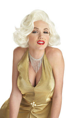 Adult Classic Marilyn Monroe Blonde Wig for Halloween