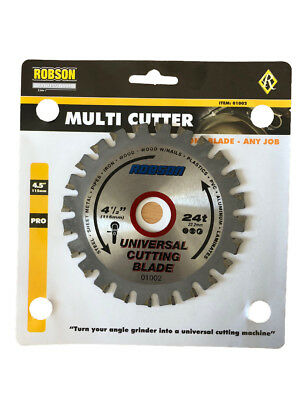 Multi cutter Blade 115mm suits 4.5 and 5 inch angle grinders