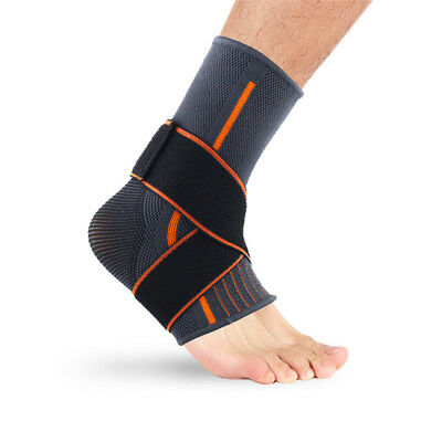 New Fashion Adjustable Elastic Ankle Movement Protection Ankle Support Brace S/L