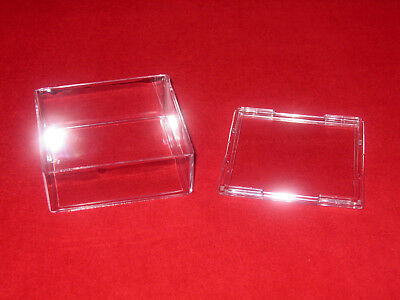 Bcw Puck Holders Style; Fashionable Clear Acrylic Stackable Display Cases 42 In Free Shipping!