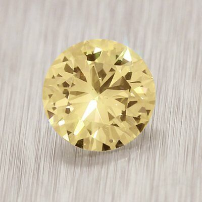 Loose Moissanite Brown Color VVS1 5.80 MM to 9.55 MM Round Excellent Cut
