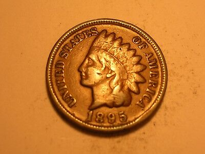1895 Indian Head Cent (VF & Attractive)