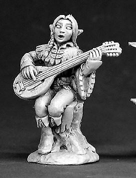 Reaper Miniatures Dark Heaven Legends 03398 Liriel Silverlocks, Elf Bard