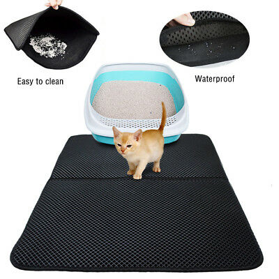 High-elastic EVA Cat Litter Mat Waterproof Double-Layer Cat Litter Trapper