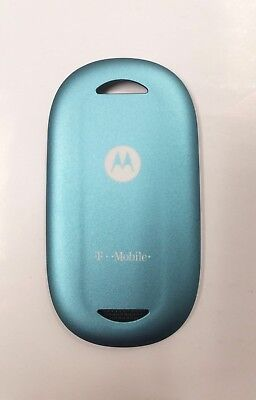New Motorola PEBL U6 Back Battery Cover - Pearl Blue