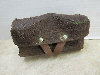 Russian Soviet Military Sks Stripper Clip Ammo Pouch Pocket 7.62 X 39