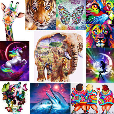Fairy 5D Diamond Painting Cross Stitch Animals Embroidery Mosaic Crafts DIY Kit