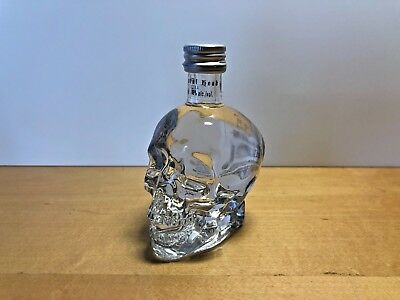 New - CRYSTAL HEAD Vodka - Small Skull bottle - 50 ml. - For Collectors