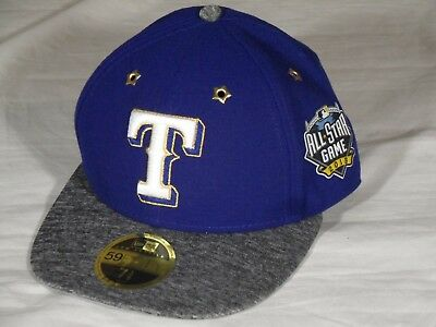 the latest b1ca6 1dd1e New Era 5950 59Fifty Texas Rangers Low Profile 2016 ASG All Star Game  Fitted Hat
