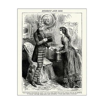 "14632249 10""x8"" (25x20cm) Print Charles Dickens - Dombey and Son..."