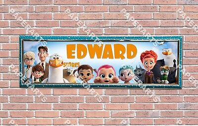Personalized Customized Trolls Movie Name Banner Wall Decor Poster with Frame