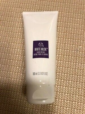 NEW! FREE SHIPPING! ❤️ The Body Shop White Musk Hand Cream 3.3oz/100g
