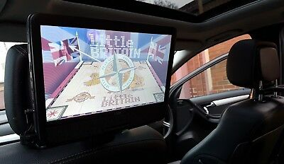 "Logik 10"" 12v Portable In-Car Rechargeable DVD Player+Swivel Screen & Car Kit"