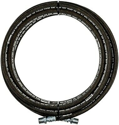 """1/2"""" x 50' 1-Wire Hydraulic Hose 1/2 MPT ENDS 1250 psi NEW PARKER HOSE& FITTINGS"""
