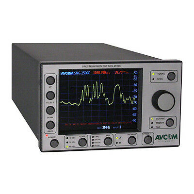 Avcom SNG-2500C 5 MHz - 2500 MHz Wideband Rack-Mount Spectrum Analyzer