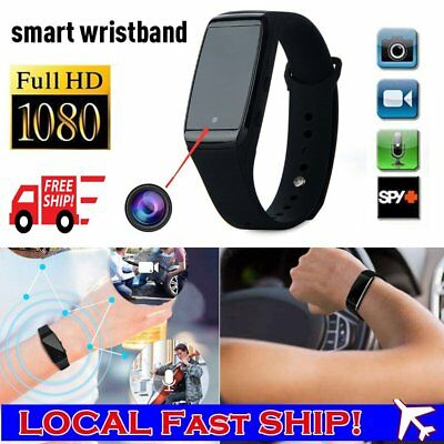 1080P Spy Hidden Camera Watch DVR Recorder Security Motion Detection Monitor Cam