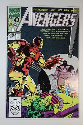 The Avengers #326 First Appearance Of Rage - Vf- Condition