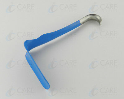 "Jackson Vaginal Retractor 7"" Insulated Gyno Surgical Retractors Care Instruments"