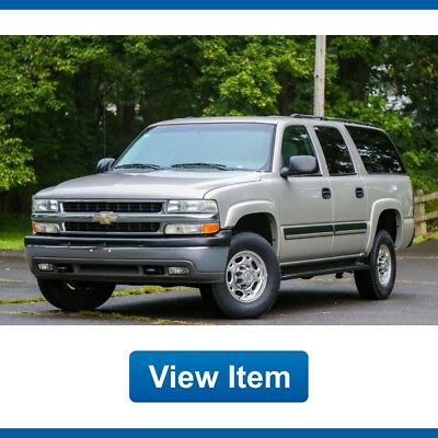 Chevrolet Suburban 4.10 Ratio K2500 4WD 8.1L 1 Owner CARFAX Tow