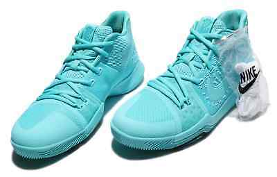 sale retailer d76d4 f5cbc NEW Nike Kyrie 3 GS Aqua Youth Basketball Shoes 859466-401 Multi - Sizes