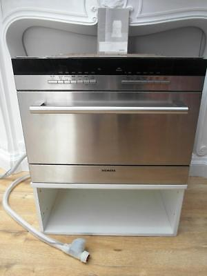 STAINLESS Steel SIEMENS Small UNDER Bench DISHWASHER with MANUAL QZZQ Adelaide
