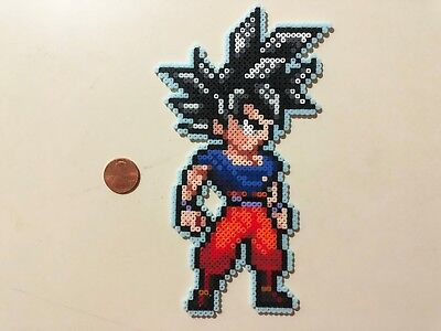 Goku Ultra Instinct Dragon Ball Super Mini Bead Sprite Perler Artkal Pixel Art