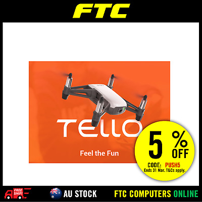 NEW Ryze Tech Tello Drone powered by DJI - DJI Authorised Australian Reseller