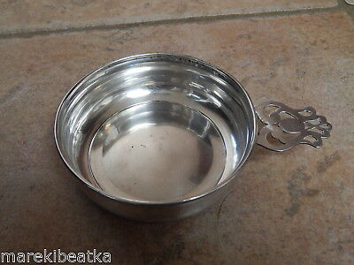 Antique Webster  Sterling Silver Art Deco Porringer # 19846