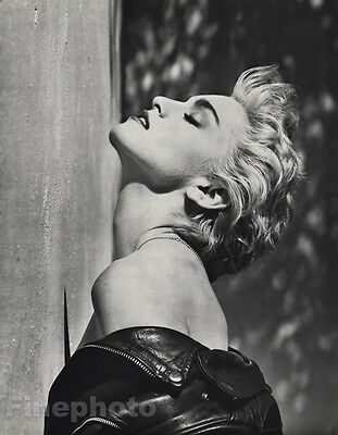 1986 Vintage 11x14 MADONNA Singer Pop Music Movie Photo Gravure Art ~ HERB RITTS