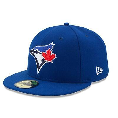 New Era 59Fifty Fitted Cap. Authentic Mlb On Field Cap. Toronto Blue Jays