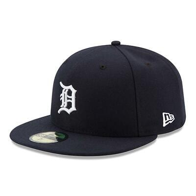 New Era 59Fifty Fitted Cap. Authentic Mlb On Field Cap. Detroit Tigers