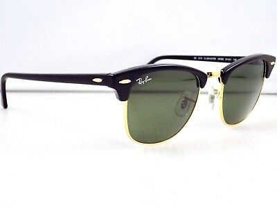 ccec4fdf5b france ray ban clubmaster 3016 rb3016 w0365 black 51mm hack d19f1 d352f